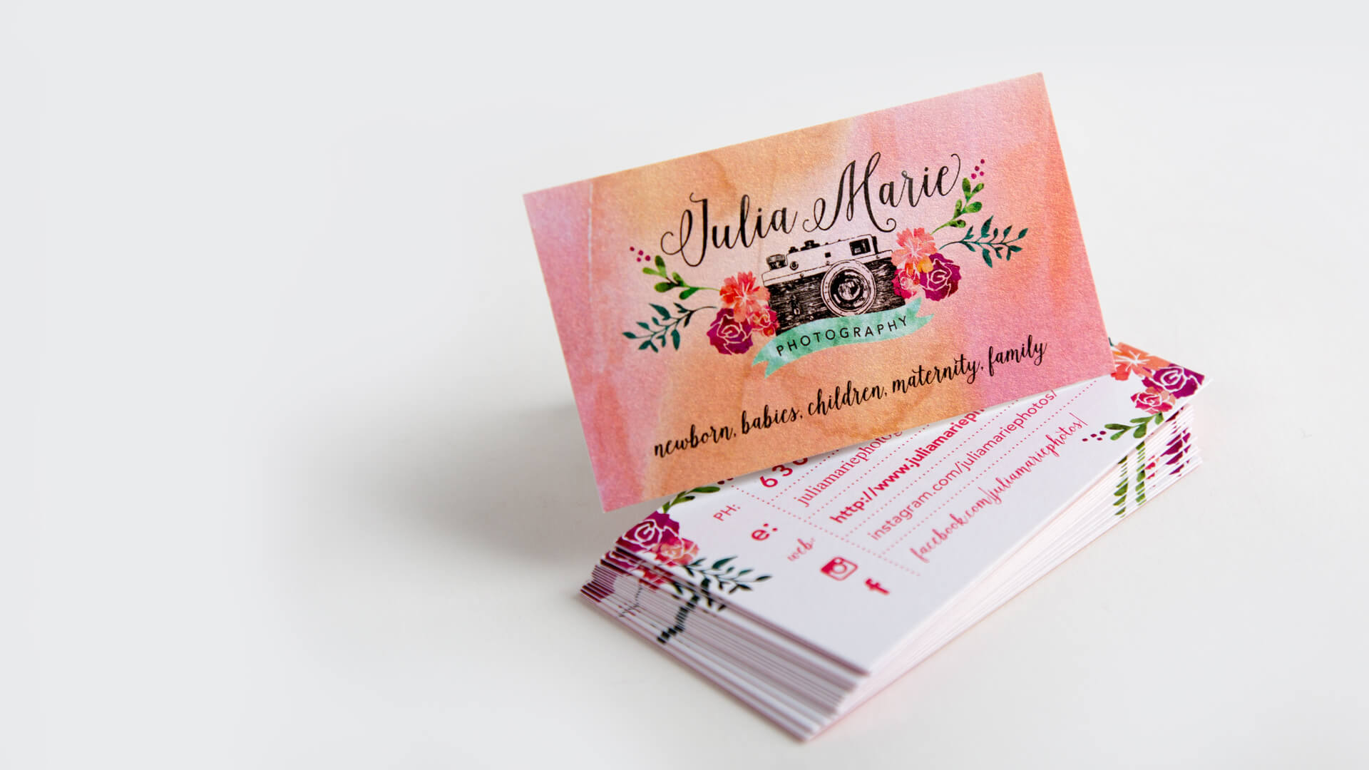 Standard Business Card Printing : Smartpress