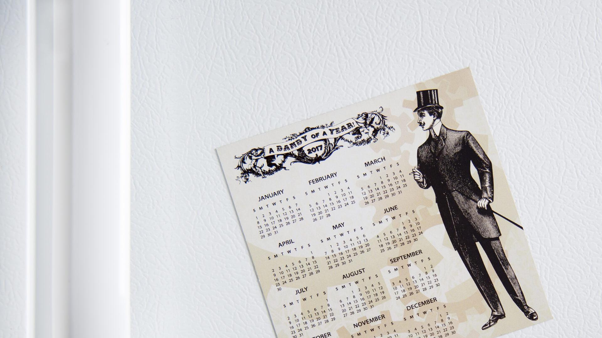 magnetic calendar printing custom calendar magnet
