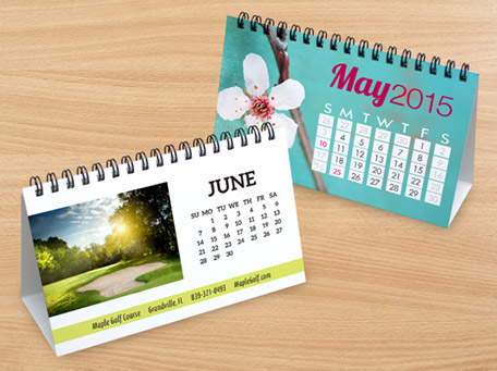 Custom Desk Calendar Printing Services