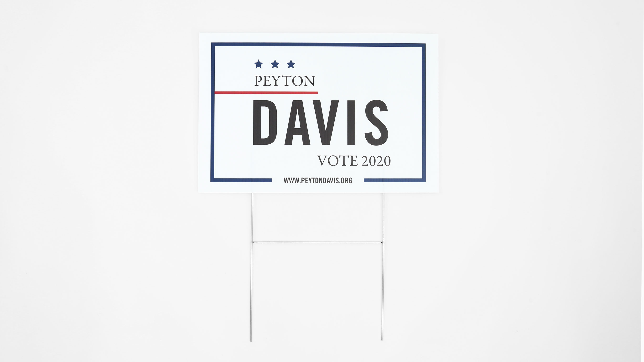 Political Campaign Yard Signs Signage